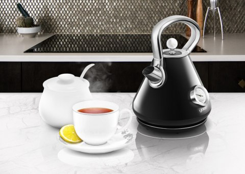 Electric kettle YOER CRYSTAL EK02BK